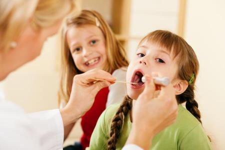 reduce the children fever