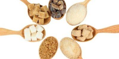 types of sugar