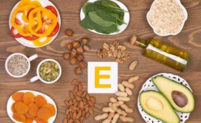 Vitamin E intake